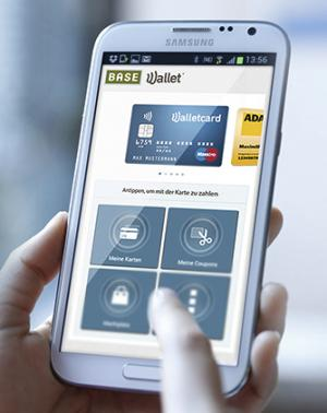 3f546db64f Germany s E-Plus launched its Base Wallet with an NFC-enabled prepaid card