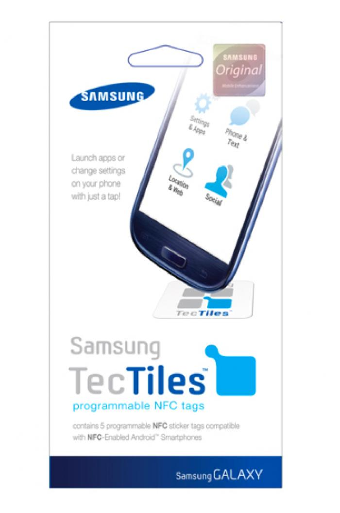 Samsung put its branded TecTiles tags on sale in the U.S. in mid-June.